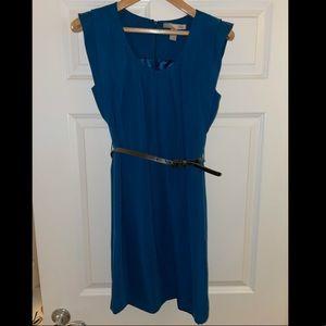 NWOT Blue Dress with Belt